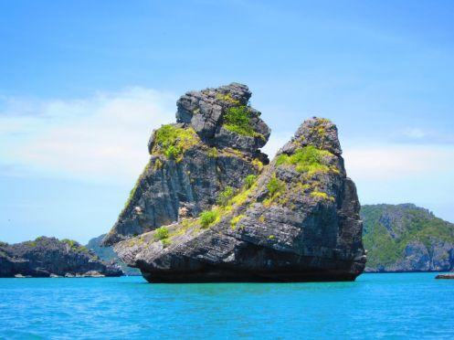 Hanuman Island - Ang Thong National Marine Park #nofilter