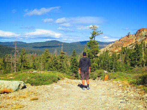 Hiking in the Sierra