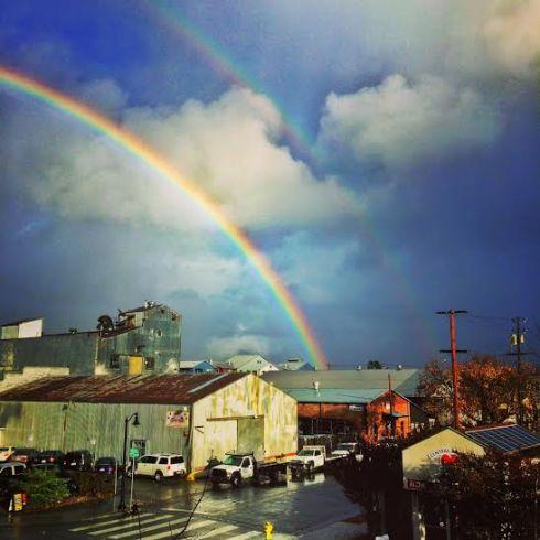Petaluma - Double Rainbow