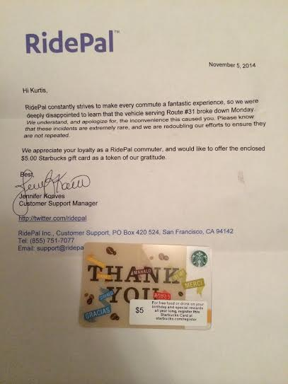 A 500 Gift Card An Apology Is This A Memorable Customer
